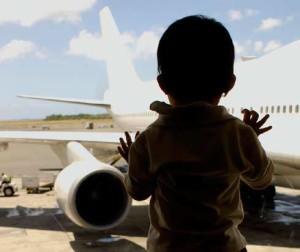 Niños y viajes por el mundo