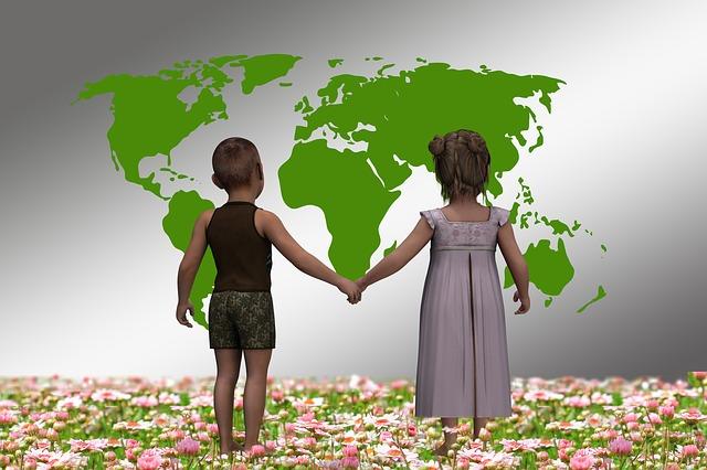 La vuelta al mundo con niños
