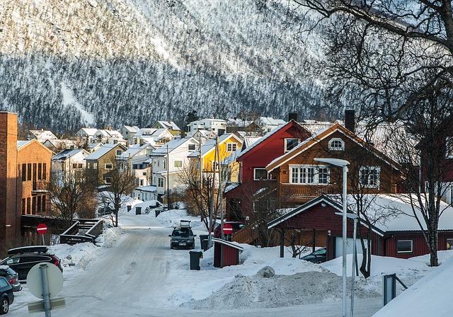Alegría en la casa de Papá Noel en Laponia