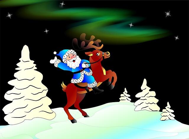 La casa de Papá Noel en Laponia y su mágica visita