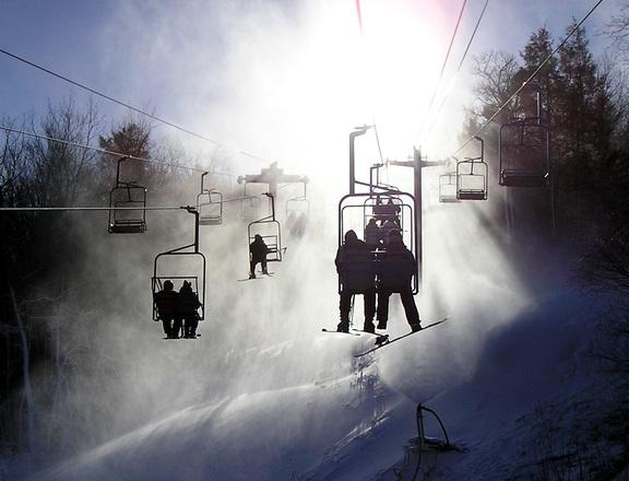 Dónde esquiar con niños en España