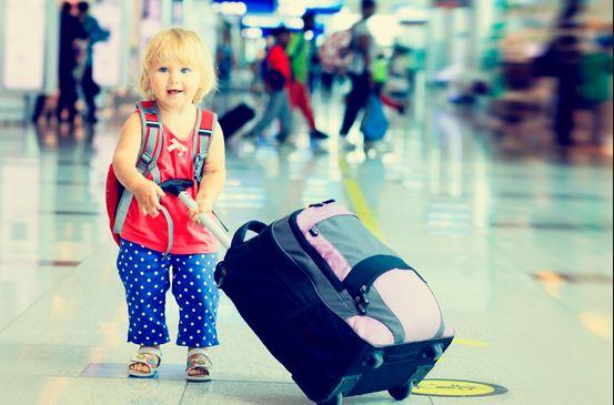 Principales riesgos de viajar con niños