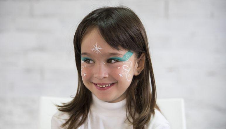 Maquillaje de Elsa de Frozen